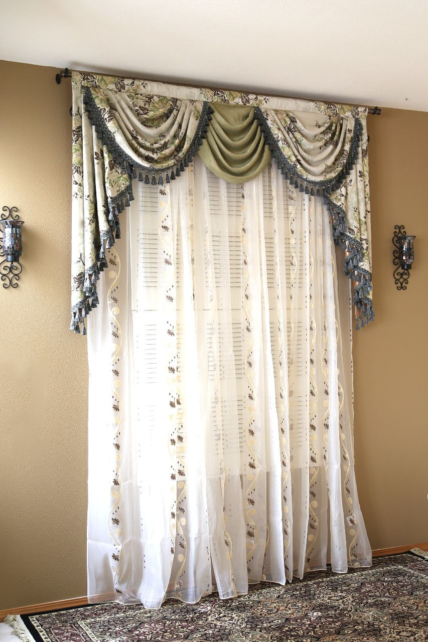 Appalachian Spring Classic Overlapping Swag Valance Curtains Curtain Designs For Bedroom Curtain Designs Curtains