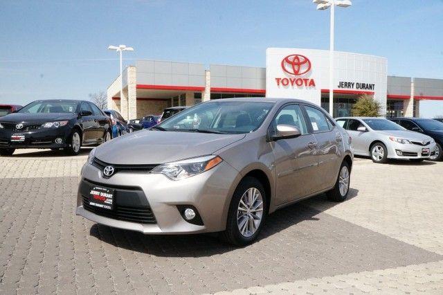 2014 Toyota Corolla LE Premium #Toyota #Corolla #Sedan #Premium #ForSale #New | #Granbury #Weatherford #FortWorth #Cleburne #Abilene #JerryDurant