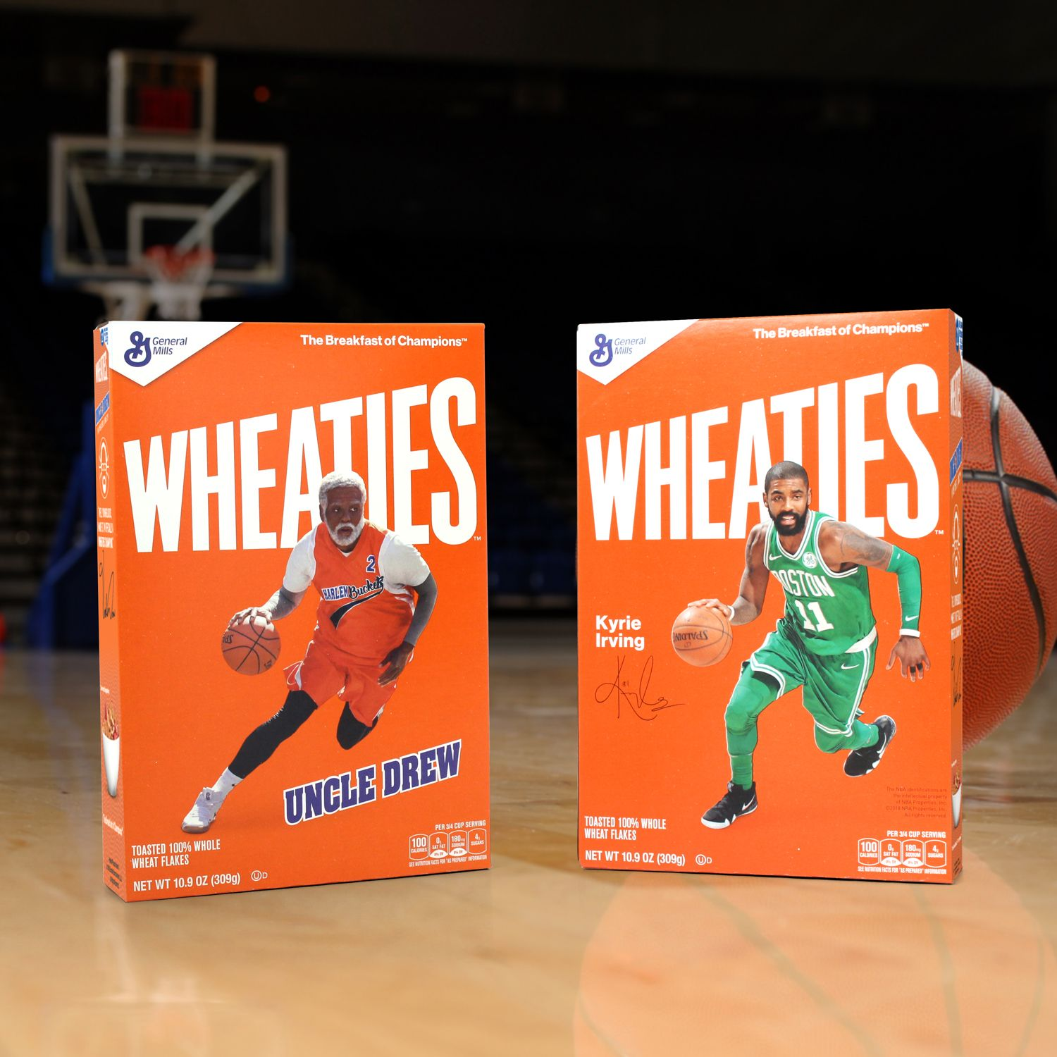 bd1bce0b4aac General Mills is stepping off the supermarket shelves and into House of  Hoops and Foot Lockers all across America this week in partnership with Nike  and ...