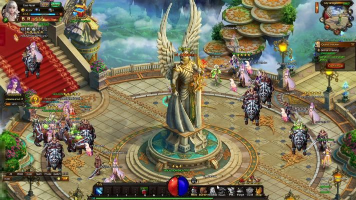 Thundercall is a Browser-based Free-to-play, Role-Playing