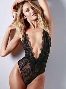 e10ccdddcd Eyelash Lace Strappy Teddy - Very Sexy - Victoria s Secret