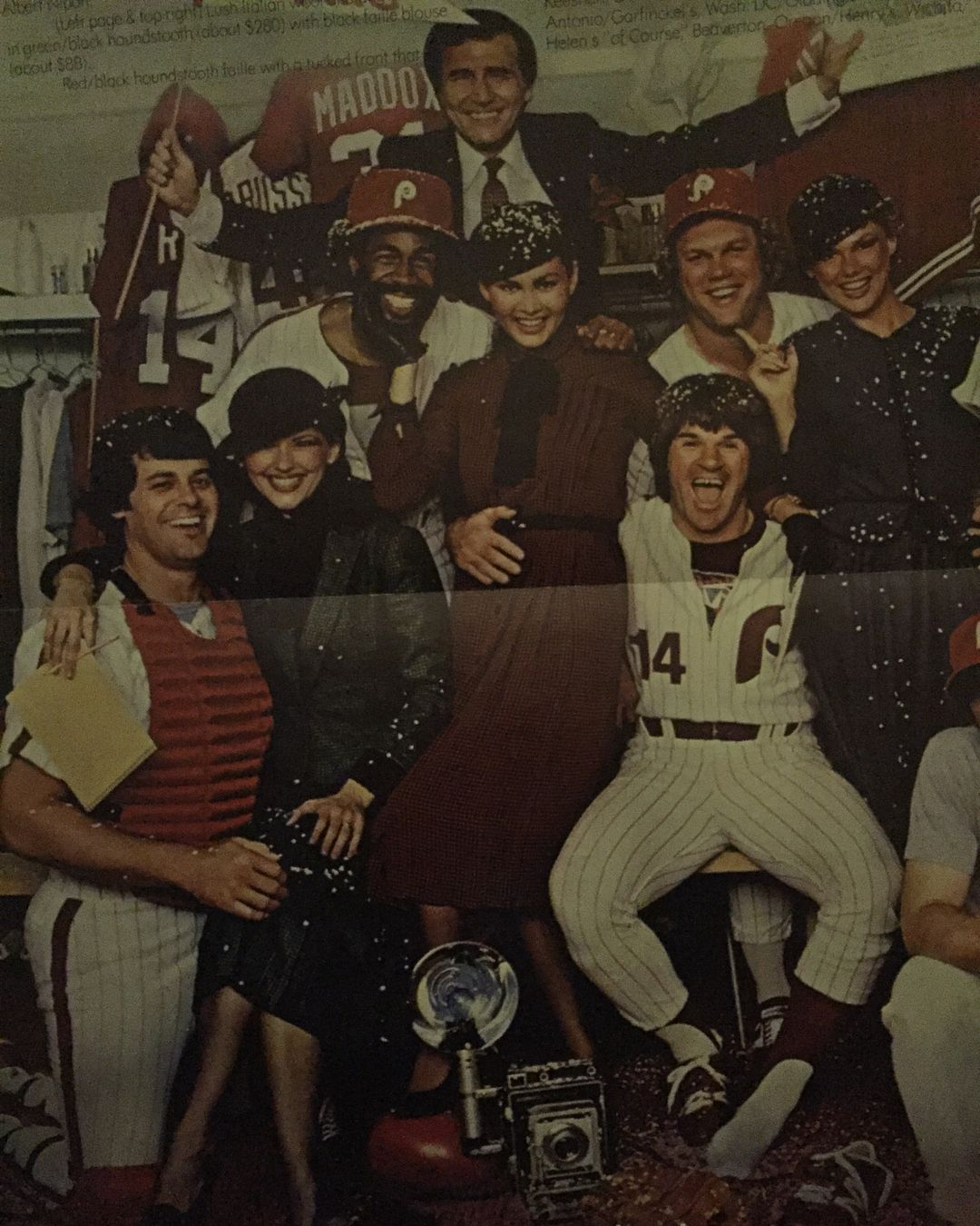 """1980 or 1981 Albert Nipons Promo Poster """"Press Women"""