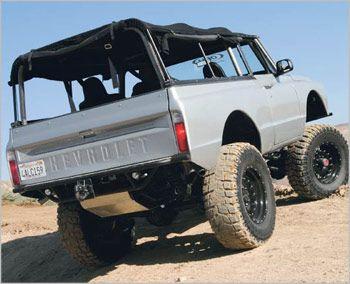 72 Chevy Blazer