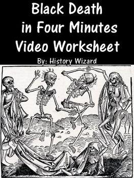 black death in four minutes video worksheet middle ages black death middle ages and worksheets. Black Bedroom Furniture Sets. Home Design Ideas