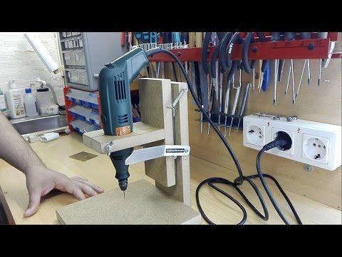 Como hacer facil una sierra para madera youtube - Soporte para dremel ...