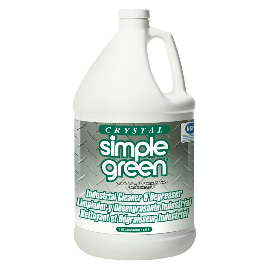 Simple Green Crystal Industrial Cleaner Degreaser 1gal 6 Carton Smp19128 In 2020 Degreasers Crystals Industrial