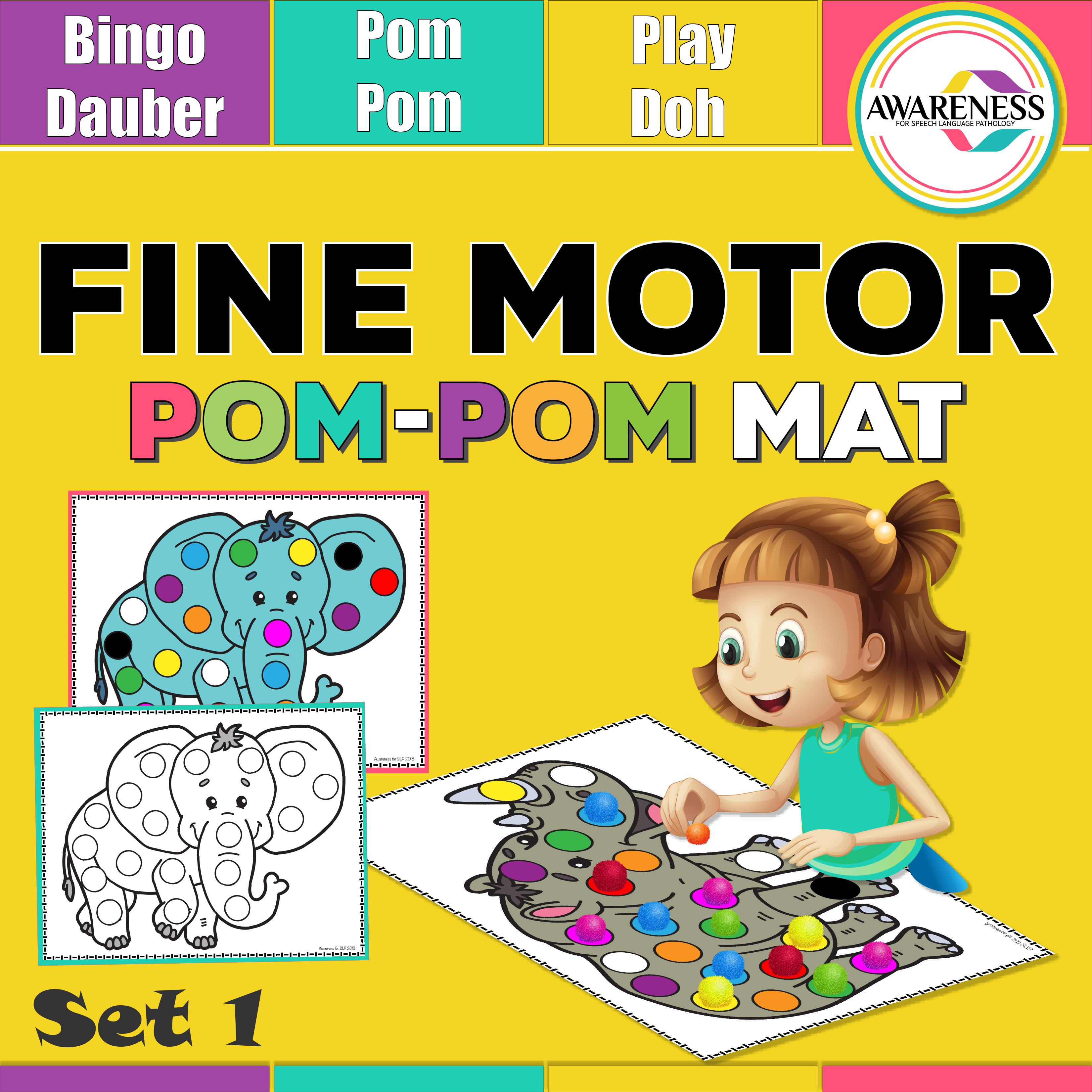 Pom Pom Mats Bingo Dauber
