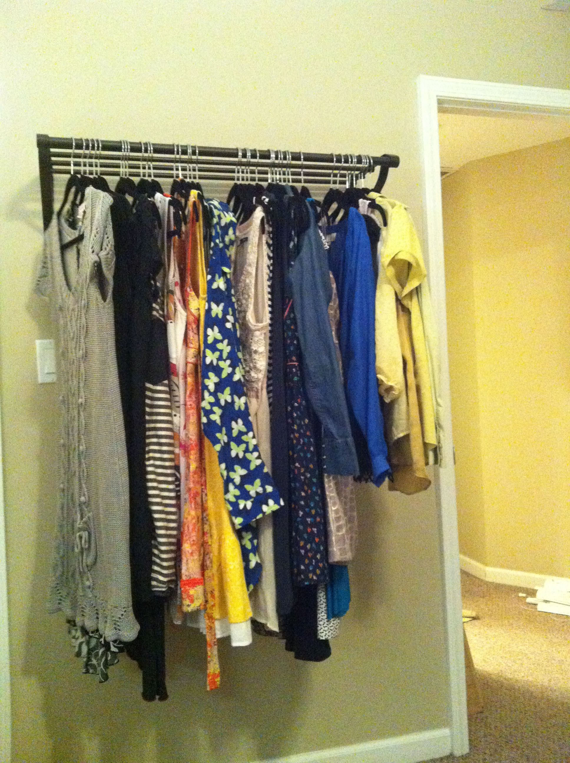 No closet solution for 20 decorating diy bedroom - Room with no closet ...