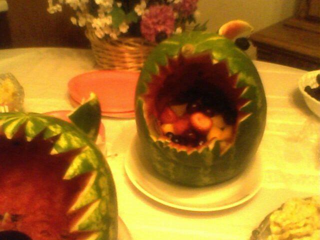 Shark melon - by Marla :D