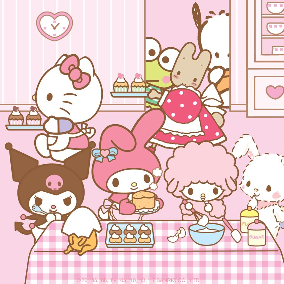 Sanrio Friends Hello Kitty Wallpaper Kitty Wallpaper Hello