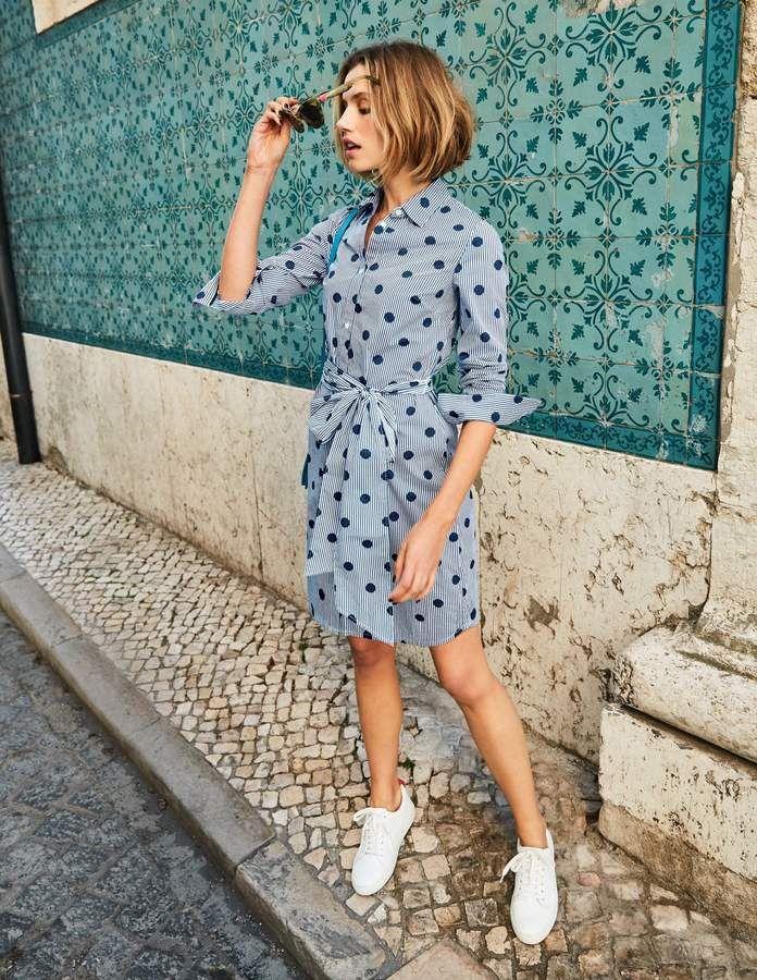 46ba837f6a Boden Modern Shirt Dress