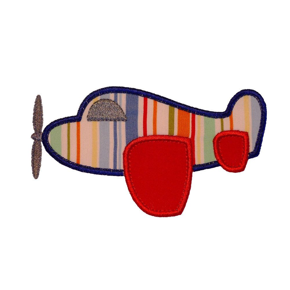 Toy Airplane Appliques Machine Embroidery Designs Applique Patterns ...