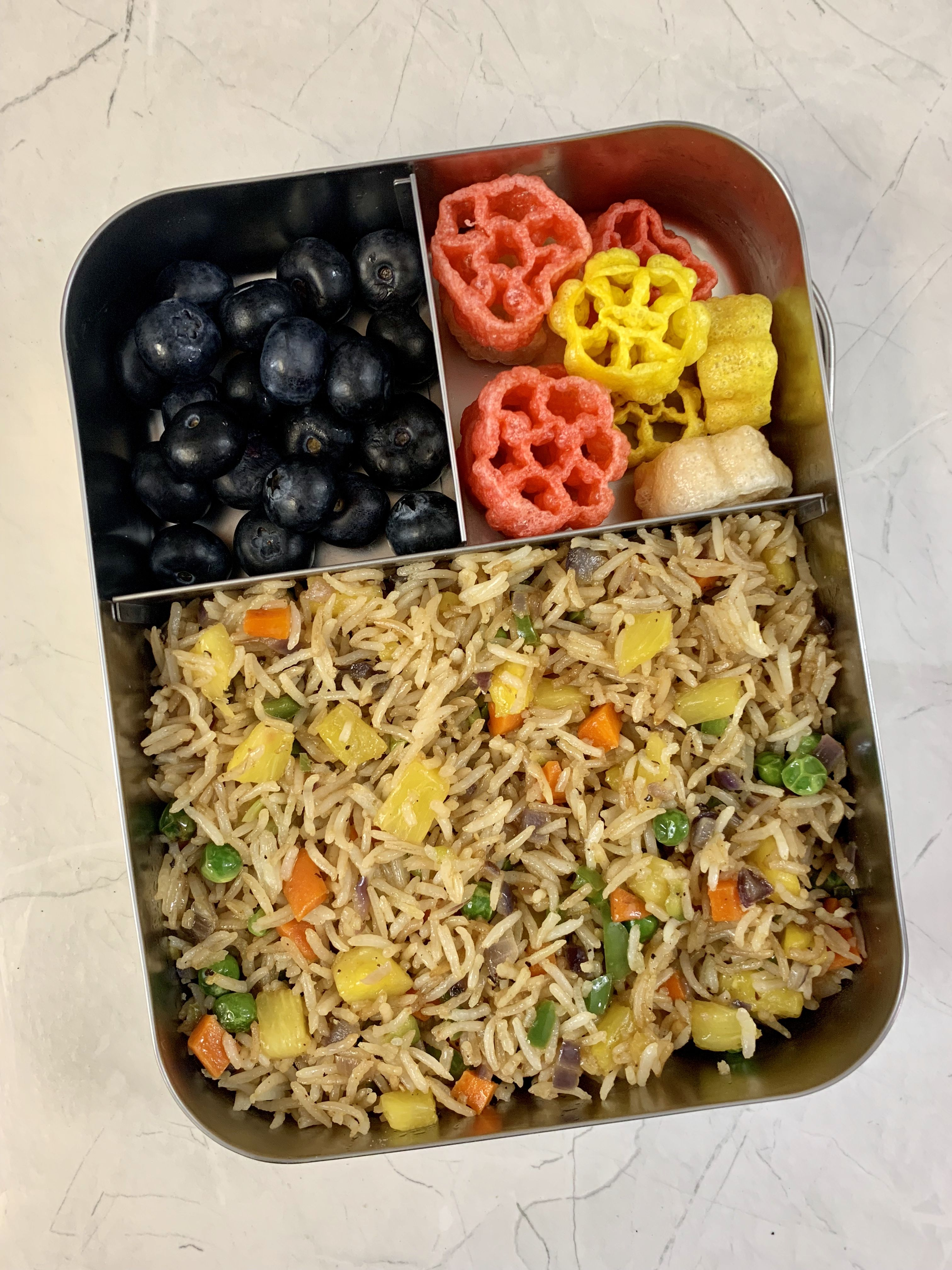 Pineapple Fried Rice Recipe Lunch box recipes, Healthy