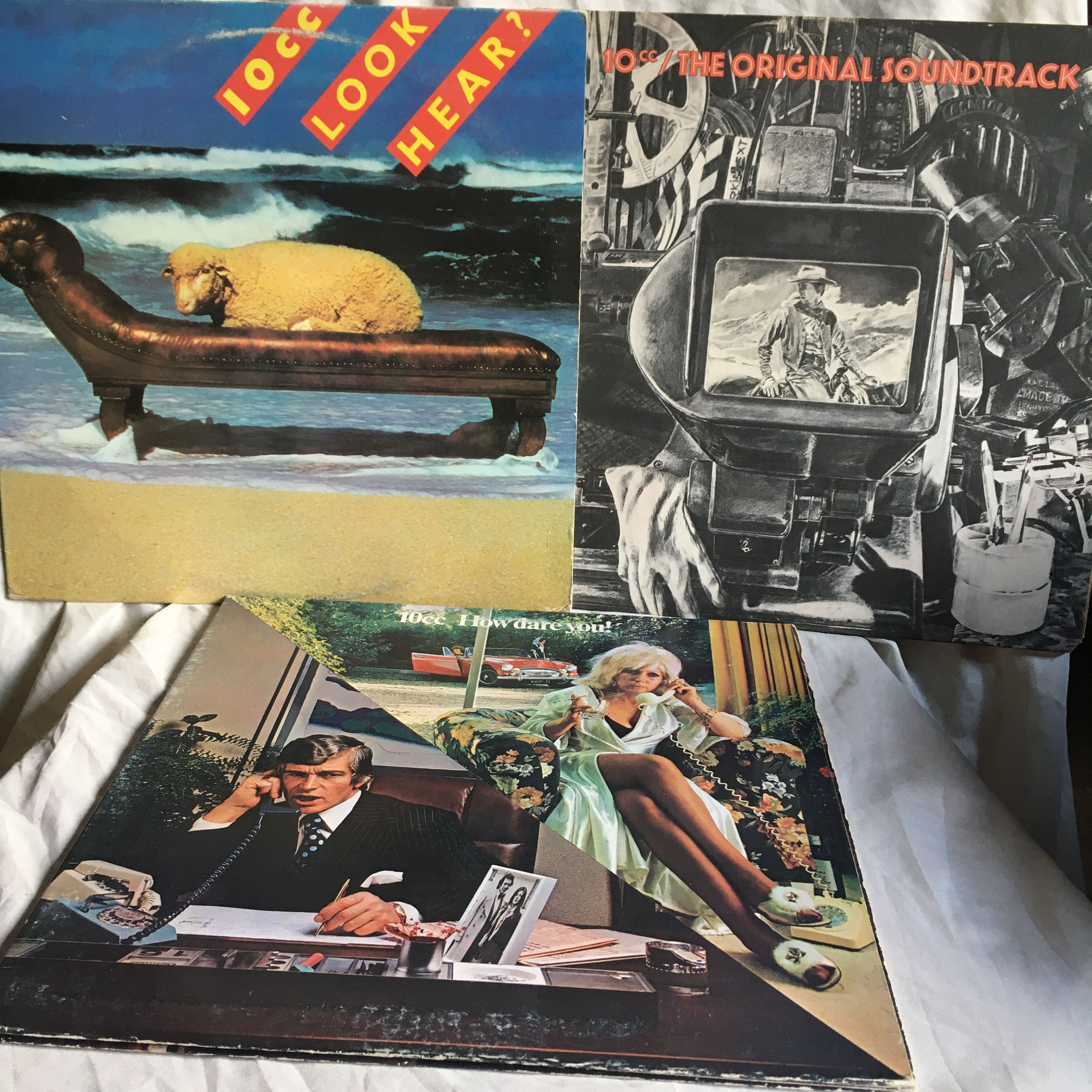 10cc The Original Soundtrack How Dare You Look Hear Etsy In 2020 Venus And Mars Rock And Roll Vinyl