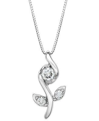 cz rose lariat girlfriend or gift media sterling valentine gold pendant necklace silver y wife