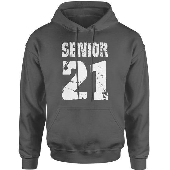 Seniors '21 Class of 2021 Adult Hoodie Sweatshirt