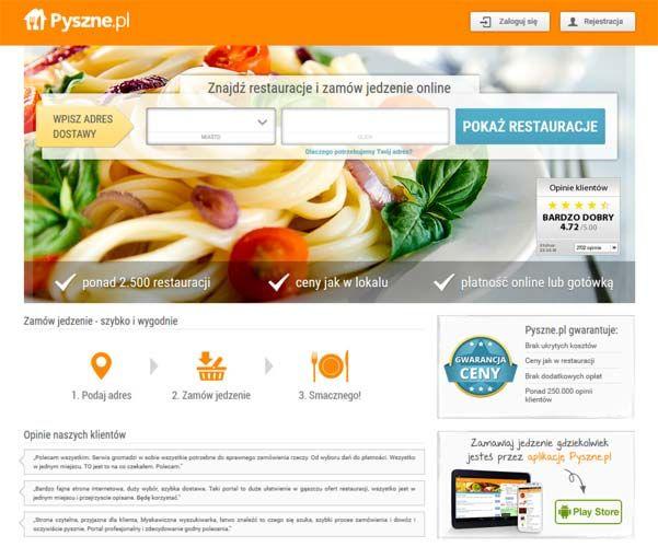 Pyszne – Znajdź restauracje i zamów jedzenie online / order takeaway food http://www.start4app.pl/pyszne-jedzenie-online-takeaway-food/