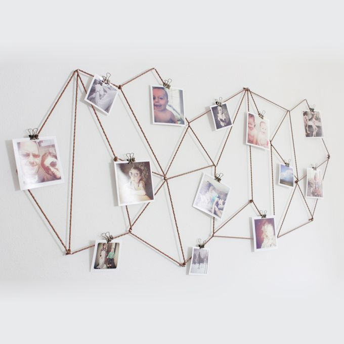 Photo Wall Collage Without Frames: 17 Layout Ideas | Wall collage ...
