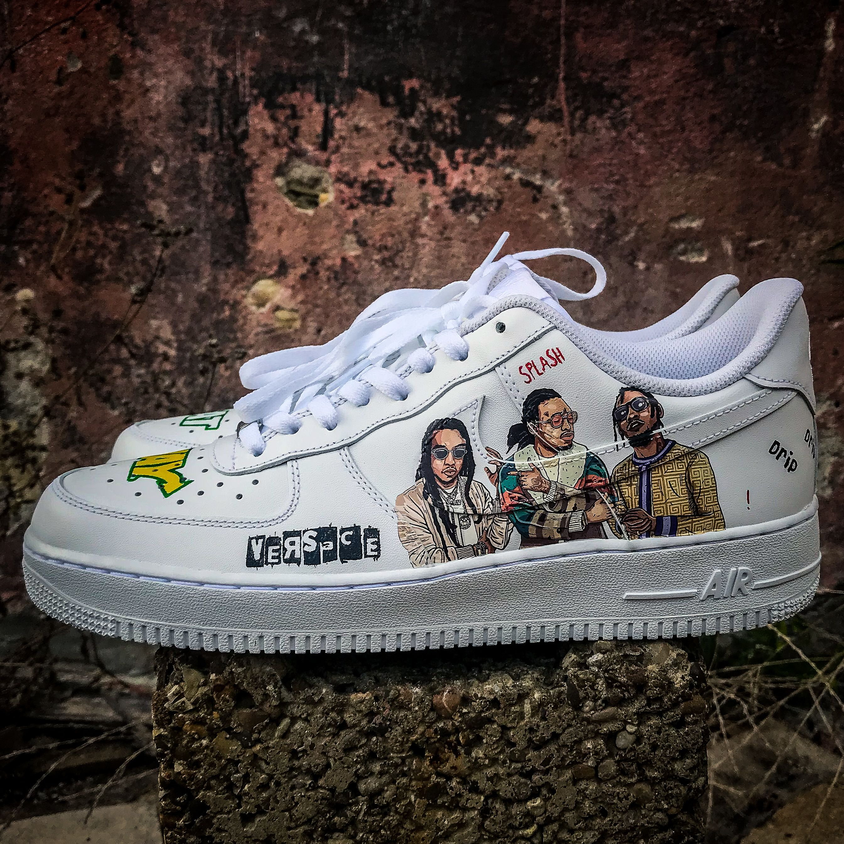 detailed pictures f655c cff98 Custom Nike Air Force 1