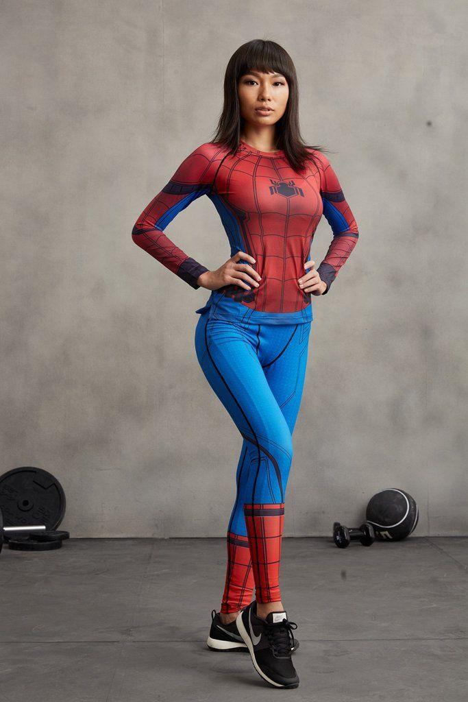 ce98c9667a Spiderman Leggings - LIMITED EDITION Spiderman Civil War, Workout Leggings, Women's  Leggings, My