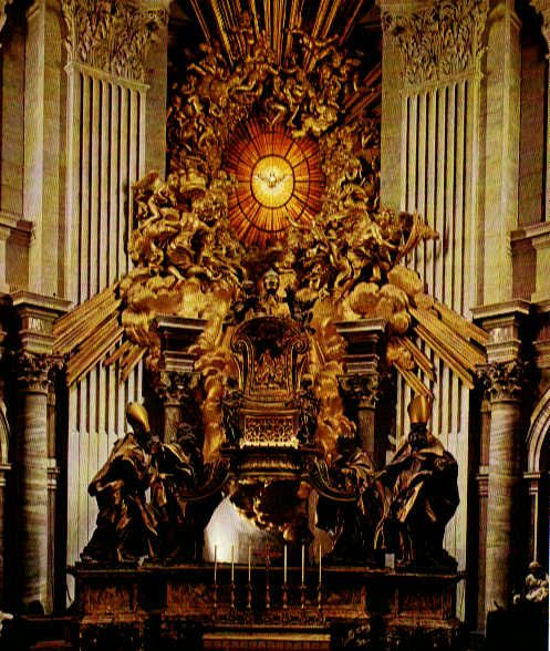 Feast Of The Chair Of St Peter Who Knew Updated Lorenzo Bernini Religioso