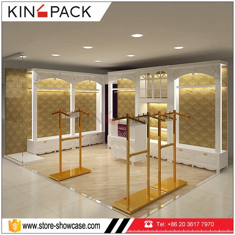 Retail Store Display Rack Ideas Design For Clothing Shop