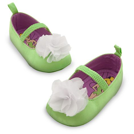 Tinker Bell Fairy Baby Costume Shoes