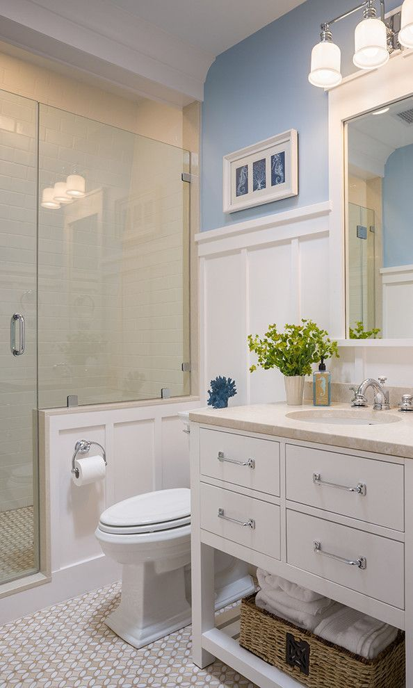 High Wainscoting Bathroom - Google Search