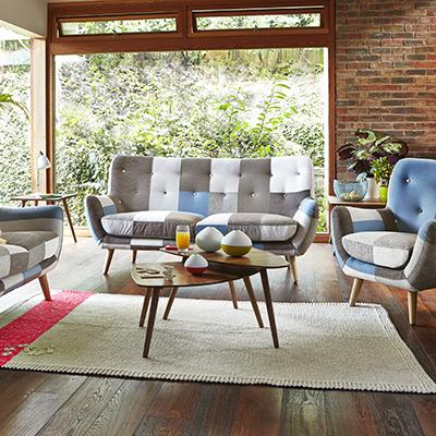 Lola - 3 Seater Sofa   Sofas   Living Room
