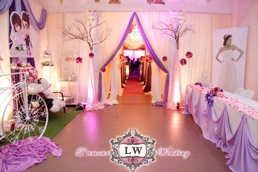 Han chiang school hall penang purple theme wedding decoration han chiang school hall penang purple theme wedding decoration junglespirit Images