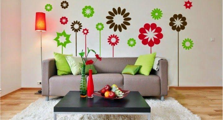Vinilos decorativos para salas decoraci n con vinilos for Sillones decorativos baratos