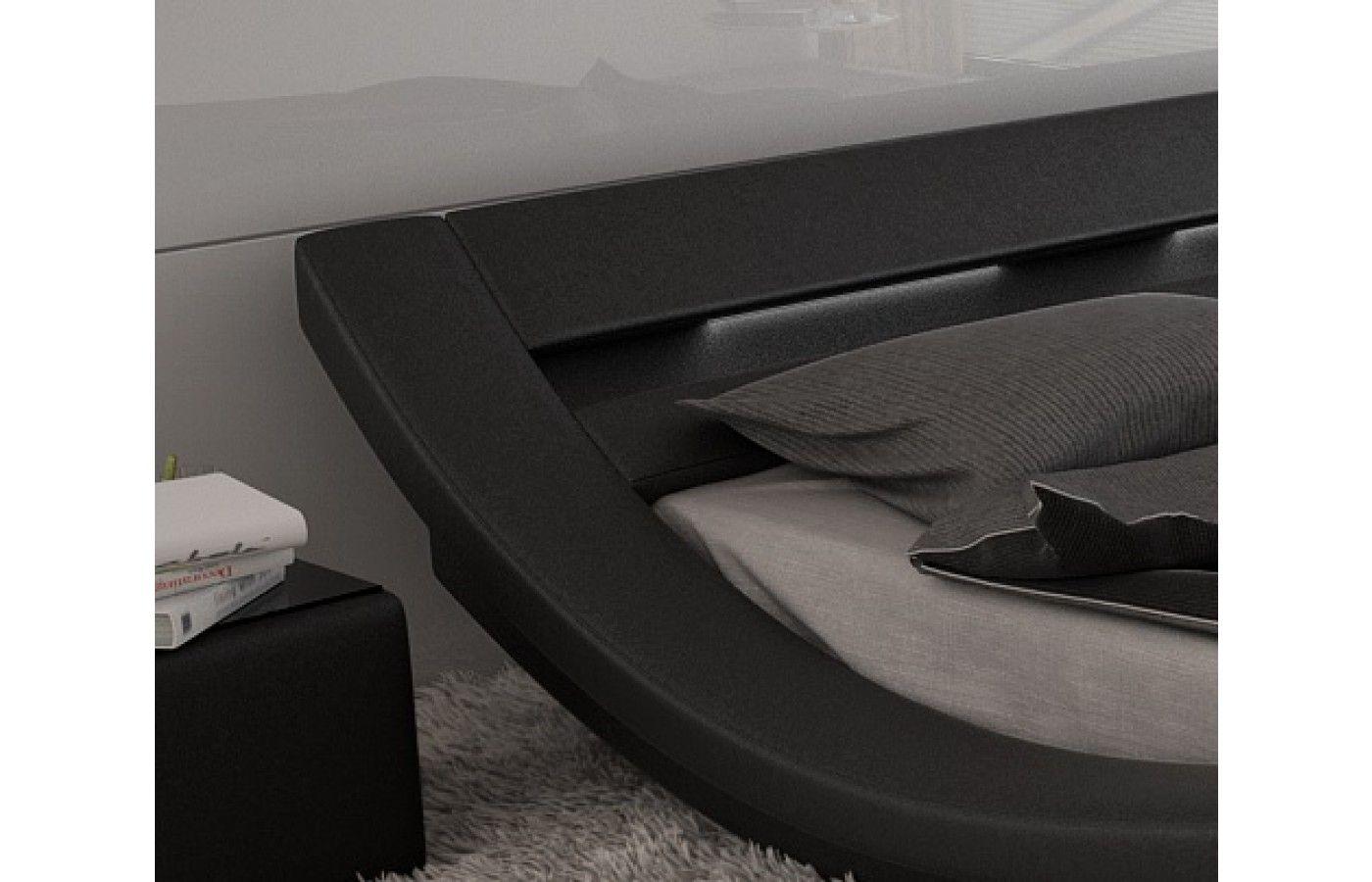 Amazing  Designerbett MASSA mit LED Beleuchtung Exklusiv bei Sofa Dreams
