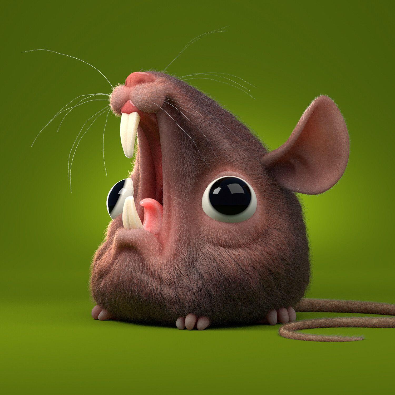 Screaming Rat (wip), by Sebastián Montecinos https//bit