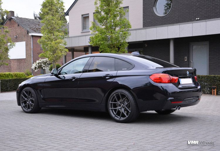 Bmw F32 428i Gran Coupe On Vmr V803 Wheels With Images Bmw