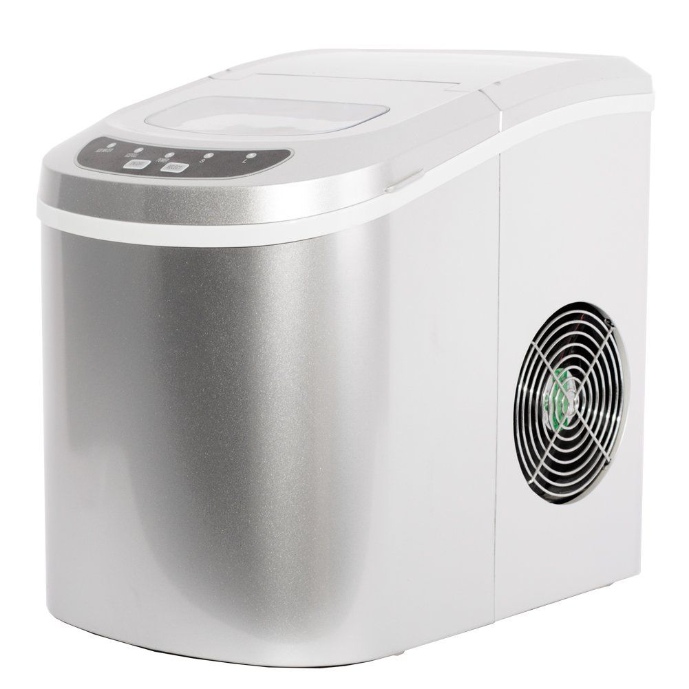 Smeta 26lb Day Counter Top Ice Maker Machine Portable Mini Ice