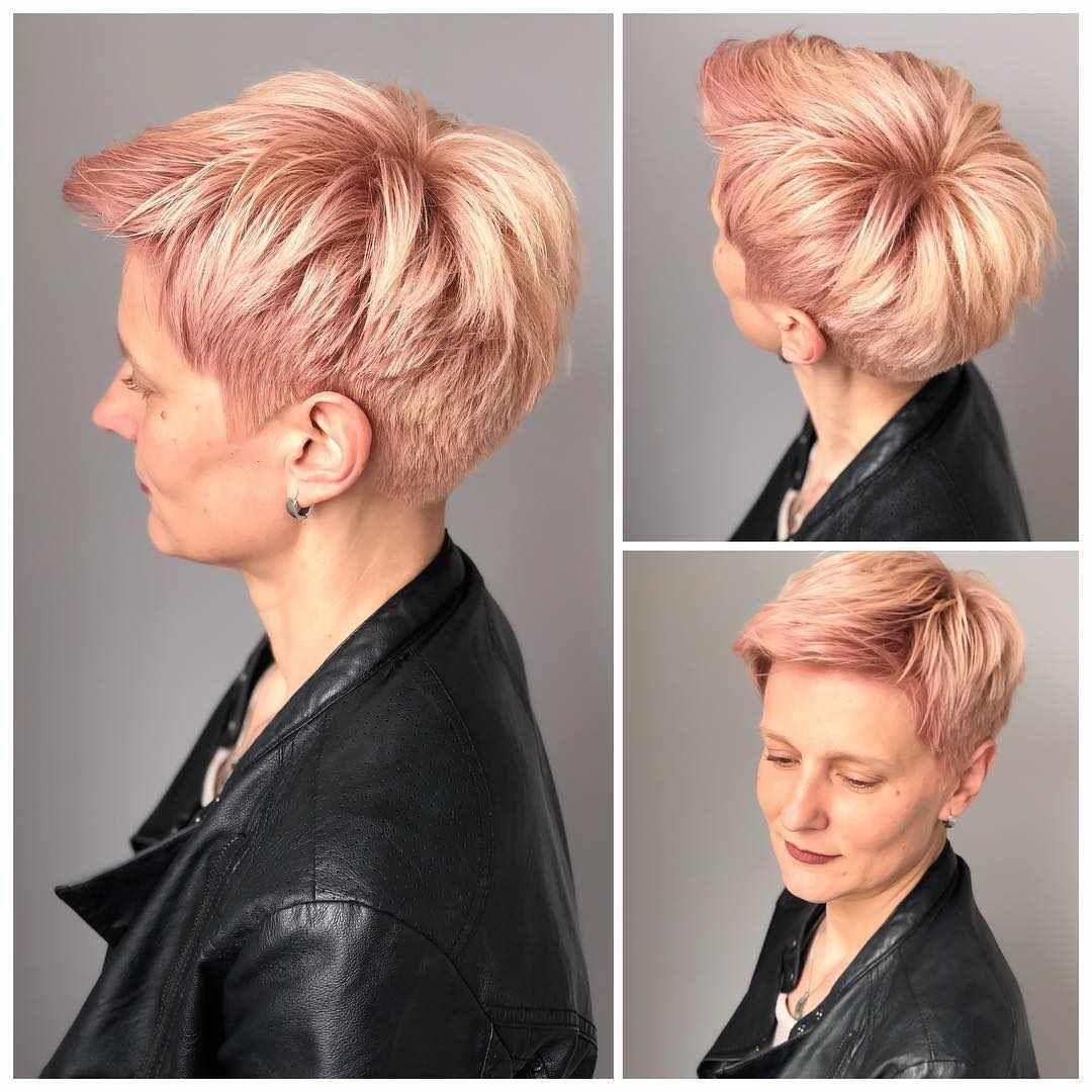 40 New Short Hair Styles For 2019 Bobs And Pixie Haircuts Short Hair Styles Pixie Haircut Pixie Haircut Styles