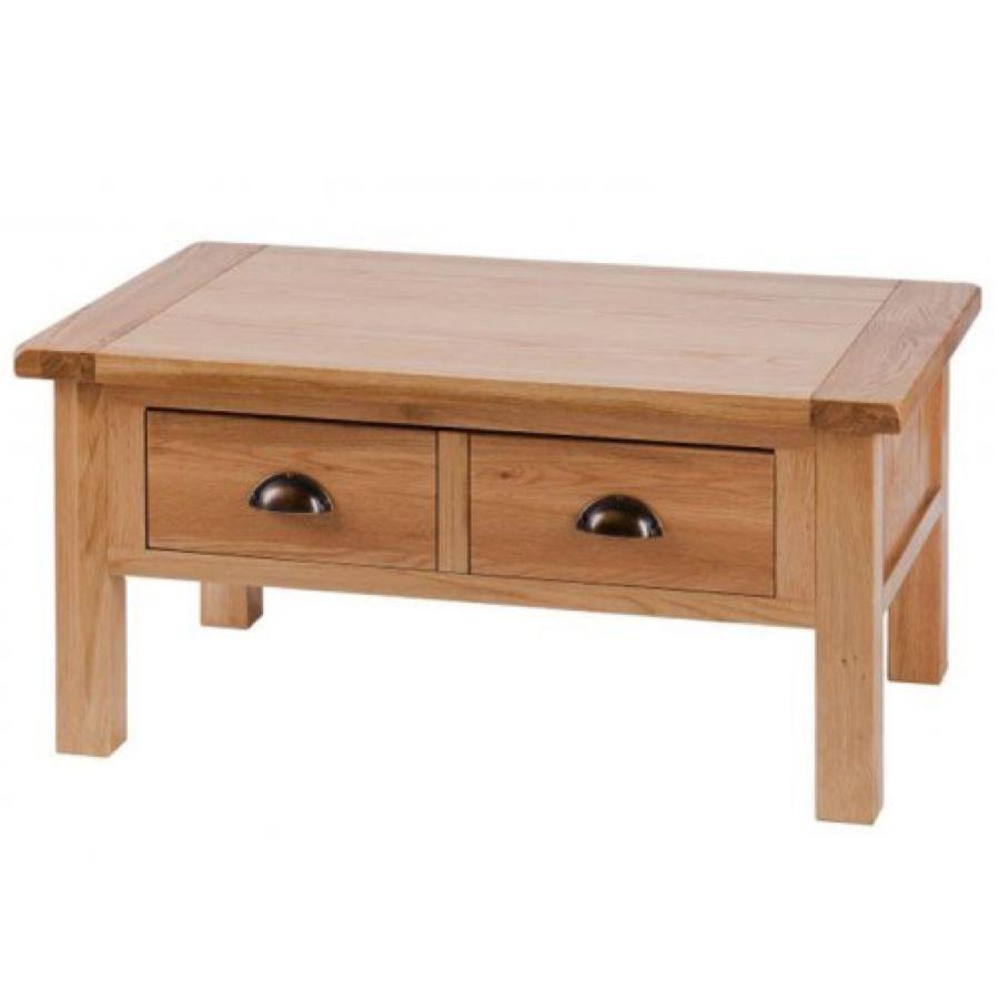 Vancouver Select Oak 2 Drawer Coffee Table Freitaslaf Net Ltd Coffee Table Oak Furniture Coffee Table Wood [ 900 x 900 Pixel ]