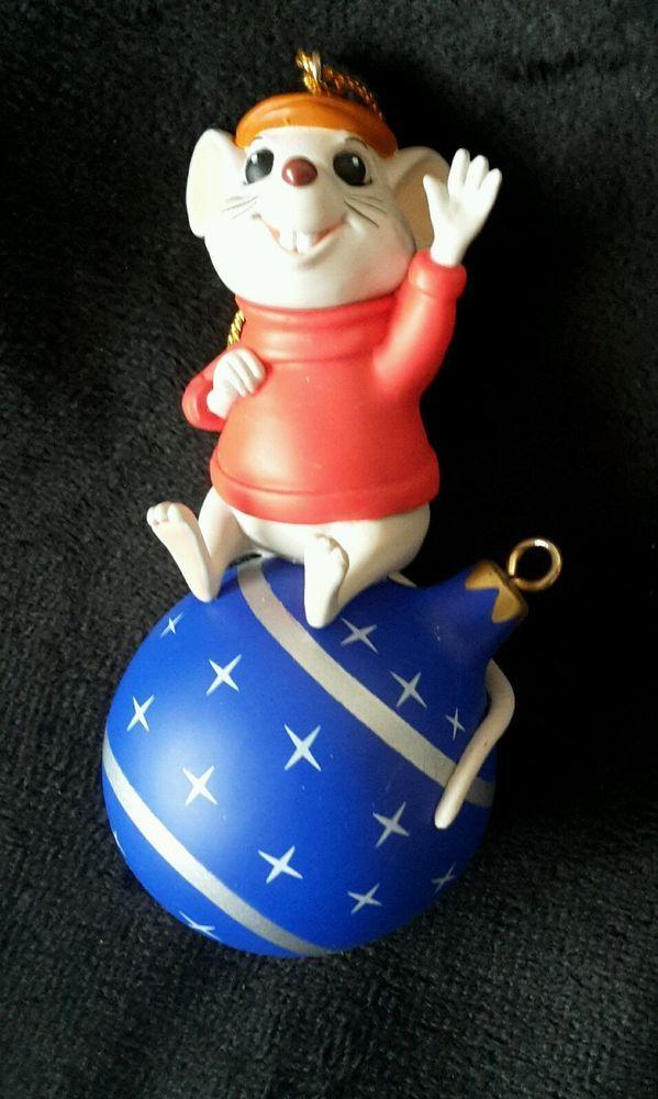 Grolier Disney President's Edition Bernard Ornament Rare In Original Box in  Collectables, Disneyana, Contemporary (1968-Now) | eBay - Grolier Disney President's Edition Bernard Ornament Rare In Original