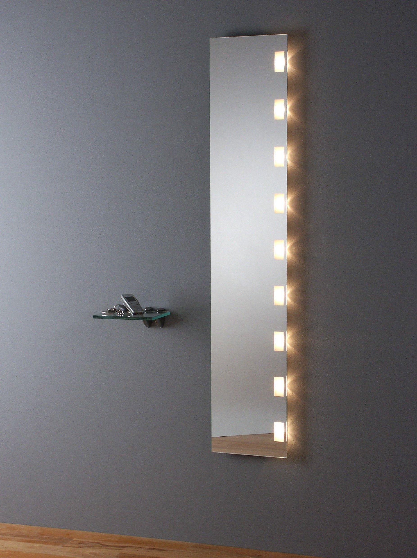 Flurspiegel mit seitlicher LED Beleuchtung  Badspiegel, Led