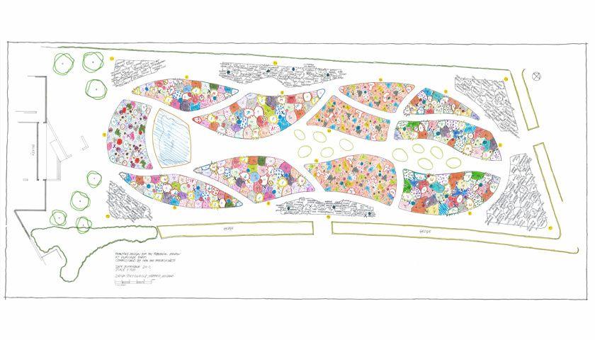 Piet Oudolf Public Garden Hauser Wirth Somerset 400 x 300