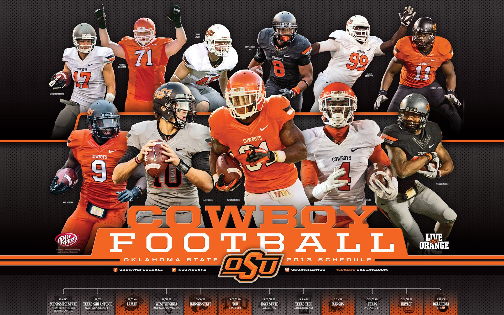 Osu Football 2013 Oklahoma State Football Cowboys Football Football