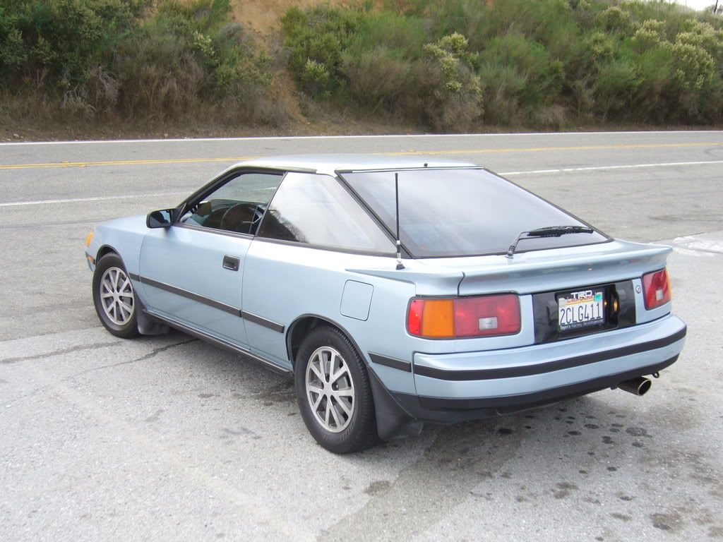 1986 toyota celica gts this car was awesome the heat did go out at