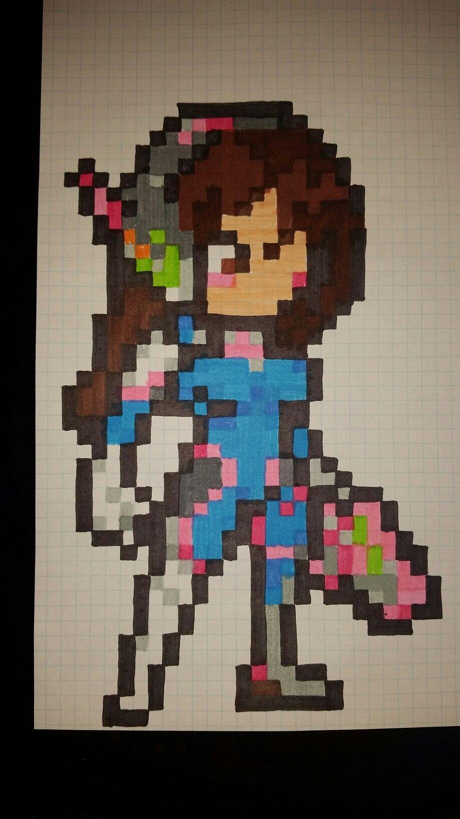 Colorear Pixel Art Pixel Art Colorear Por Nmeros