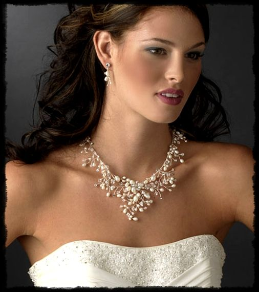 Image result for sweetheart neckline jewelry