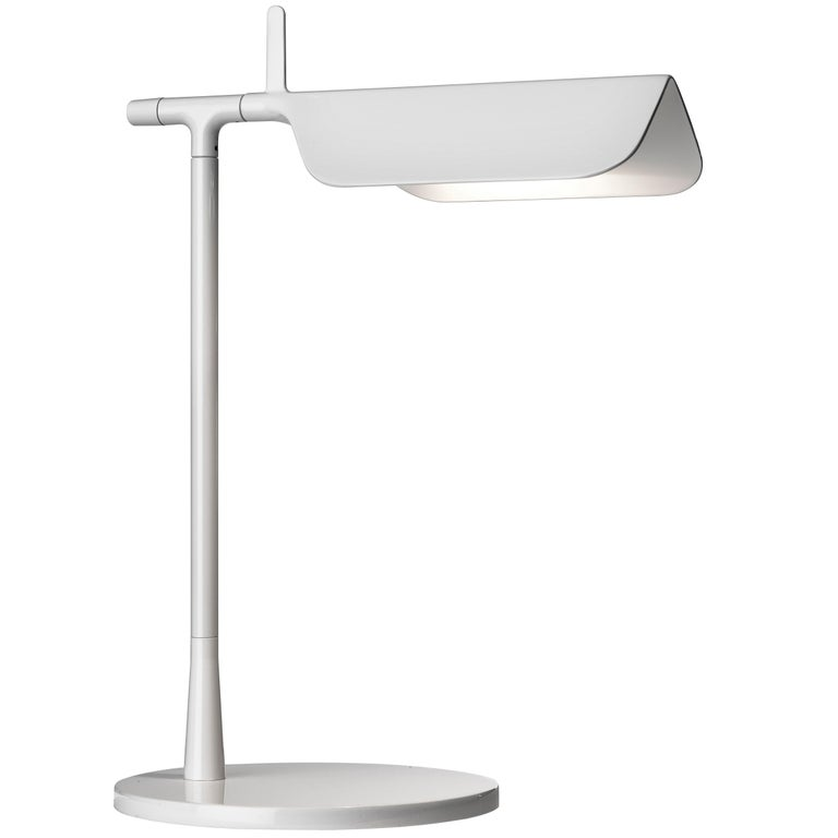 Flos Tab Led Table Lamp In White By E Barber And J Osgerby Led Table Lamp Table Lamp Lamp