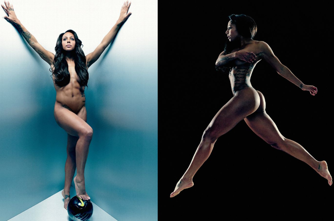 Espn Body Issue 2013 Photos Of Featured Athletes Revealed -9377