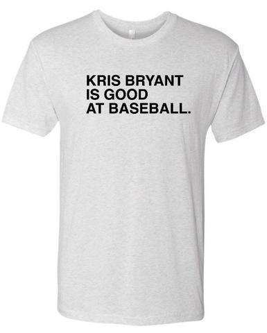5a31df1ec Kris bryant is good | Products | Mens tops, Shirts, Tops