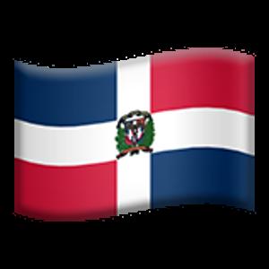 Flag Of Dominican Republic Emojis Republica Dominicana Png
