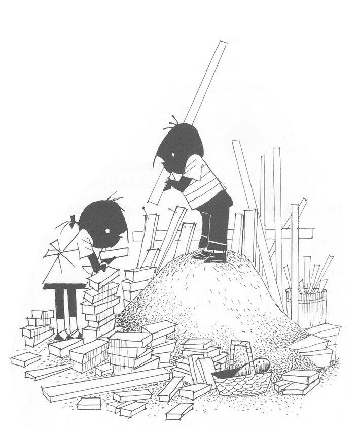 jip janneke bouwen een hut bouw thema thema bouw