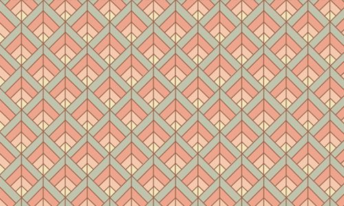 80 Triangle Patterns For Subtle Geometric Touches Art Deco